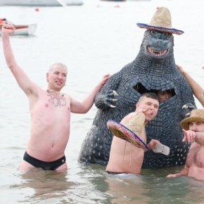 New Years Polar Bear Dip