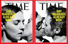 Time Gay Marriage Cover: 'Gay Marriage Already Won' In Supreme Court Marriage Equality Hearings [PHOTO]